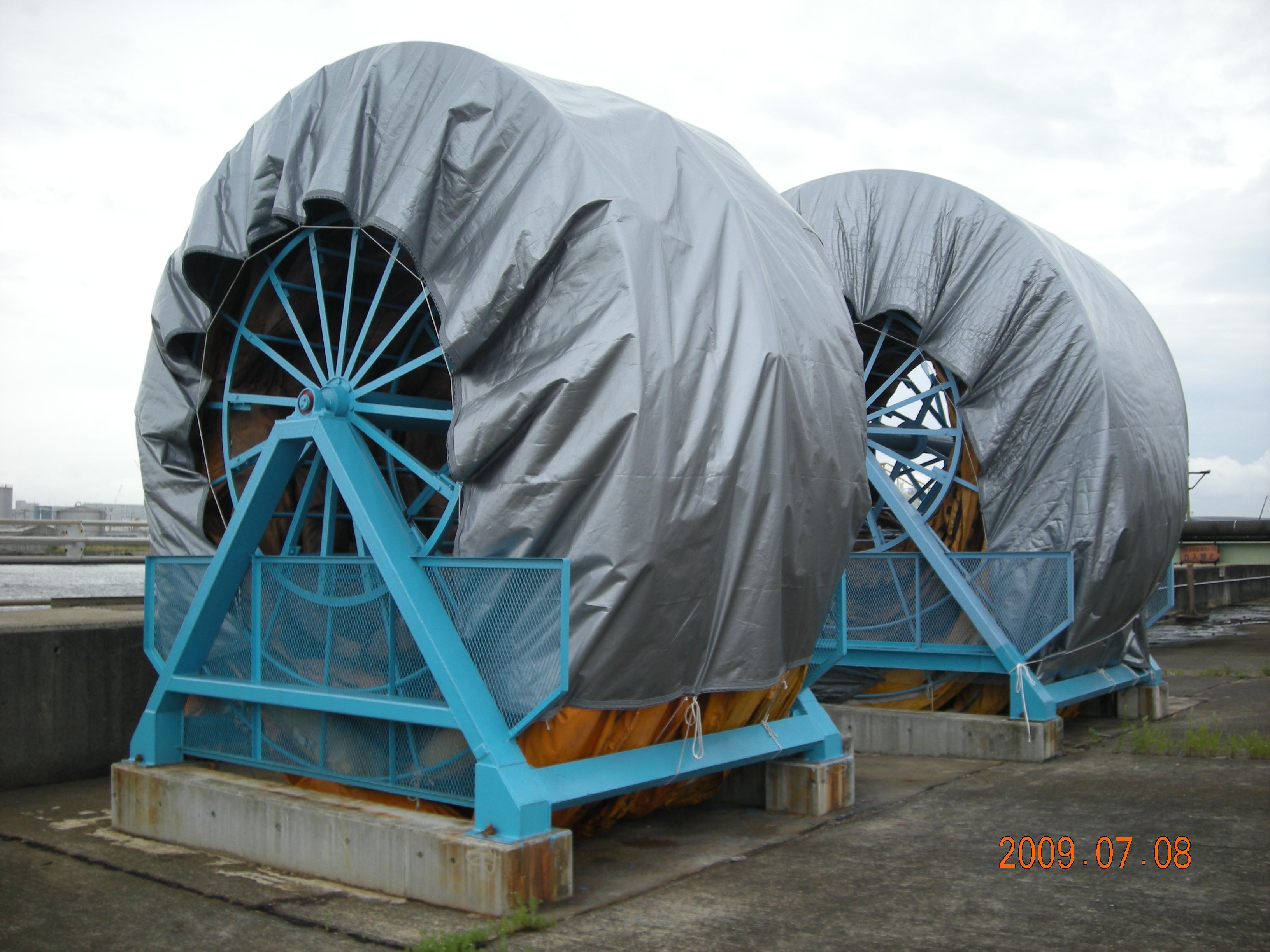 株式会社牛若は、ビニール・ポリエチレン・その他の合成樹脂を材料とした製品を製作・施工する会社です。
